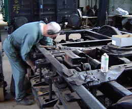 650 bogie overhaul - click to open larger image in a new window