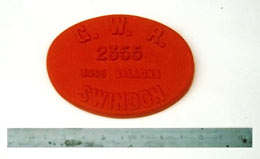 GWR tender plate pattern